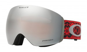 Gogle Oakley Flight Deck Torstein Horgmo SHREDBOTS RED BLACK Prizm Black Iridium OO7050-67