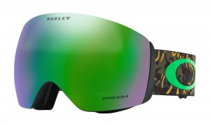 Gogle Oakley Flight Deck Camo Vine Jungle Prizm Jade Iridium OO7050-64