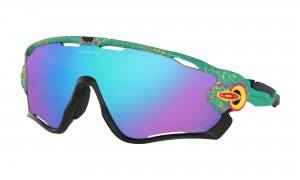 Okulary Oakley Jawbreaker SplatterFade Collection Celeste Prizm Sapphire Iridium OO9290-41