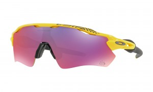 Okulary Oakley Radar EV Path Yellow Tour de France Collection Prizm Road OO9208-69