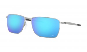 Okulary Oakley Ejector Satin Chrome Prizm Sapphire OO4142-04