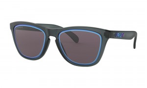 Okulary Oakley Frogskins Fire And Ice Collection Matte Crystal Black Prizm Grey OO9013-E355