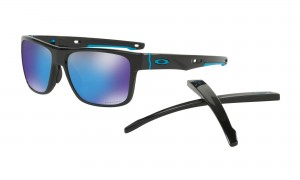Okulary Oakley Crossrange Polished Black Prizm Sapphire OO9361-1357