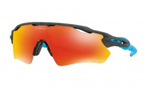 Okulary Oakley Radar EV Path Aero Grid Grey Prizm Ruby OO9208-6638