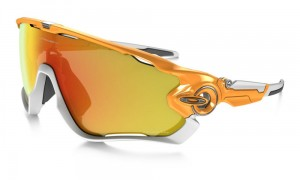 Okulary Oakley Jawbreaker Atomic Orange Fire Iridium Polarized OO9290-09