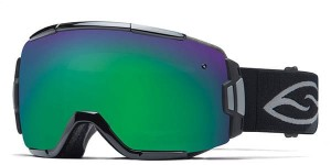 Gogle Smith VICE  GREEN SOL - X MIRROR