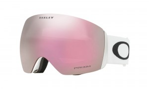 Gogle Oakley Flight Deck Matte White Prizm HI Pink Iridium OO7050-38
