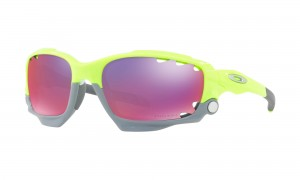 Okulary Oakley Racing Jacket Vented Retina Burn Prizm Road + Yellow  OO9171-3962