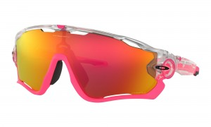 Okulary Oakley Jawbreaker Crystal Pop Matte Clear Prizm Ruby OO9290-39