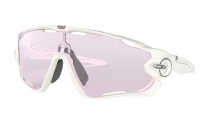 Okulary Oakley Jawbreaker Polished White Prizm Low Light OO9290-32