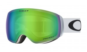 Gogle Oakley Flight Deck XM Matte White Prizm Jade Iridium OO7064-23