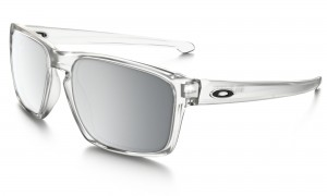 Okulary Oakley Sliver Urban Jungle Collection Matte Clear/Chrome Iridium OO9262-23