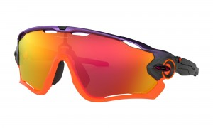 Okulary Oakley Jawbreaker Neon Pop Fade Collection Purple Pop Fade Prizm Ruby OO9290-30