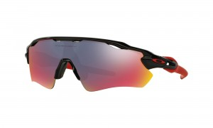 Okulary Oakley Radar EV Path Polished Black Red Iridium OO9208-21