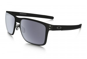 Okulary Oakley Holbrook Metal Matte Black Grey OO4123-0155