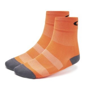 Skarpety rowerowe Oakley Cycling Sock Neon Orange 93268-71G