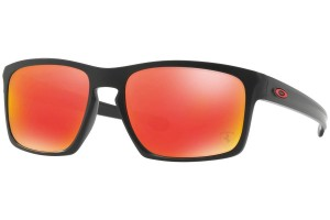 Okulary Oakley Sliver Ferrari Collection Matte Black Ruby Iridium OO9262-12
