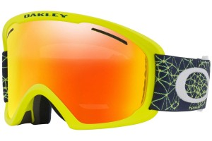 Gogle Oakley O Frame 2.0  XL Galaxy Blue Laser Fire Iridium OO7045-37