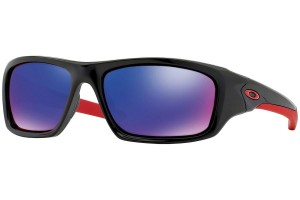 Okulary Oakley VALVE Polished Black Red Iridium OO9236-02