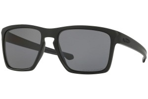 Okulary Oakley Sliver XL Matte Black Grey Polarized OO9341-01