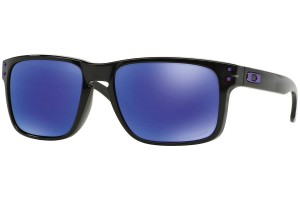 Okulary Oakley Holbrook Black Ink Violet Iridium Polarized OO9102-67