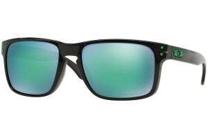 Okulary Oakley Holbrook Black Ink Jade Iridium Polarized OO9102-69