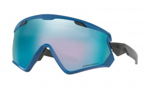 Okulary narciarskie Oakley Wind Jacket 2.0 California Blue Prizm Snow Sapphire Iridium OO7072-07