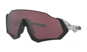 Okulary Oakley Flight Jacket Matte Black/Silver Prizm Road Black OO9401-09