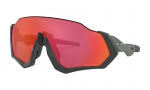 Okulary Oakley Flight Jacket Matte Steel Prizm Trail Torch OO9401-17