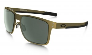 Okulary Oakley Holbrook Metal Satin Gold Dark Grey OO4123-0855