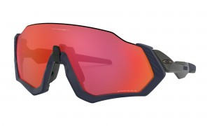 Okulary Oakley Flight Jacket Matte Navy Prizm Trail Torch OO9401-18