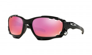 Okulary Oakley Racing Jacket Polished Black Prizm Trail & Clear OO9171-33