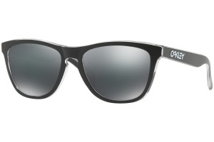 Okulary Oakley Frogskins Clear Black Iridium OO9013-B1