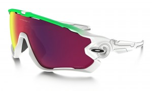 Okulary Oakley Jawbreaker Olympic Collection Green Fade Prizm Road OO9290-15