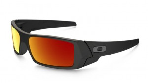 Okulary Oakley Gascan Matte Black Ruby Iridium 26-246