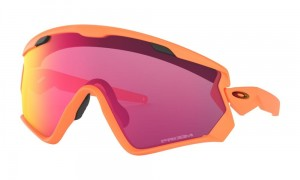 Okulary Oakley Wind Jacket 2.0 Matte Neon Orange Prizm Road OO9418-15