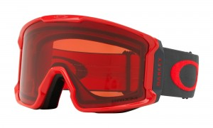 Gogle Oakley Line Miner Red Forged Iron Prizm Snow Rose OO7070-39