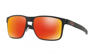 Okulary Oakley Holbrook Metal Matte Black Prizm Ruby OO4123-1255