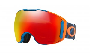 Gogle Oakley AIRBRAKE XL Hazard Bar Blue Orange Prizm Torch & Prizm Rose OO7071-25