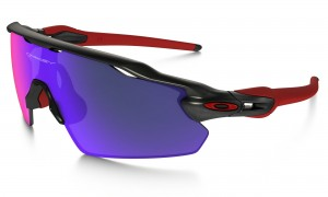 Okulary Oakley Radar EV Pitch Matte Black Ink/Red Iridium OO9211-02