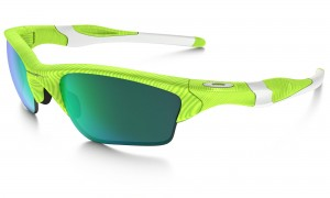 Okulary Oakley Half Jacket 2.0 XL Fingerprint Collection Retina Burn Jade Iridium OO9154-53