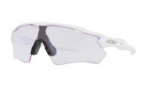 Okulary Oakley Radar EV Path Polished White Prizm Low Light OO9208-65