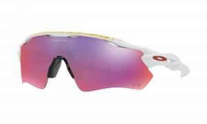 Okulary Oakley Radar EV Path Tour de France Matte White Prizm Road OO9208-50