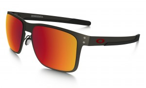 Okulary Oakley Holbrook Metal Matte Gunmetal Torch Iridium Polarized OO4123-0555
