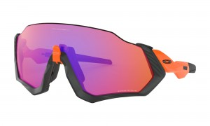 Okulary Oakley Flight Jacket Neon Orange Prizm Trail OO9401-0437