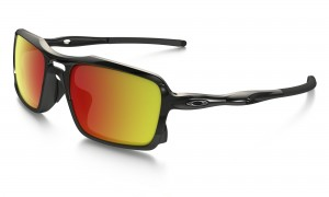 Okulary Oakley Triggerman Polished Black/Ruby Iridium OO9266-03