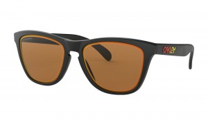 Okulary Oakley Frogskins Fire And Ice Collection Matte Black Prizm Bronze OO9013-E255