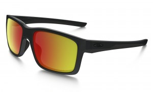 Okulary Oakley Mainlink Matte Black Ruby Iridium Polarized OO9264-07