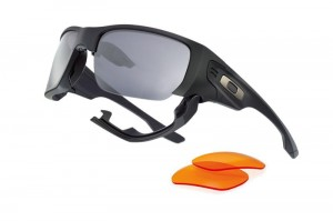 Okulary Oakley SI Style Switch Matte Black Warm Grey & Persimmon OO9194-11