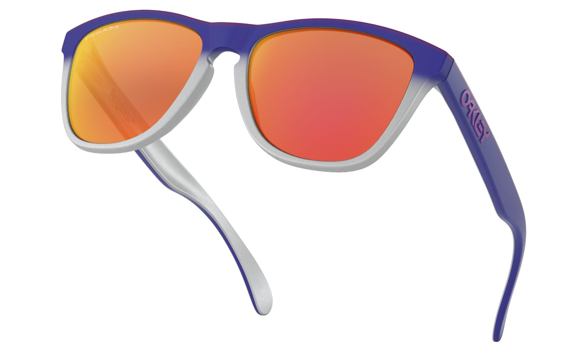 91c1282229 Okulary Oakley Frogskins Splatterfade Collection Pink Blue Fade ...